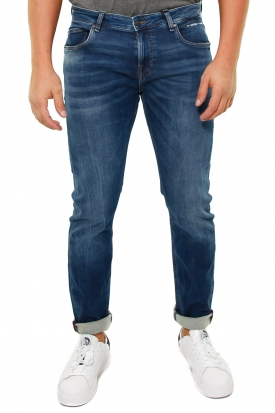 JEANS SKINNY IN DENIM FLEX SUPER CONFORT, BLU