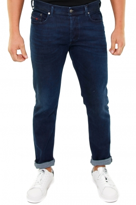 JEANS IN DENIM BLU SCURO TEPPHAR, BLU