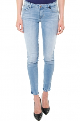 JEANS SKINNY CURVE X IN DENIM, BLU