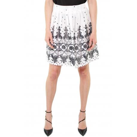 new style c0fa3 91f92 GONNA CORTA A PIEGHE, BIANCO - Formica Abbigliamento