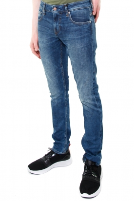 JEANS SKINNY IN DENIM STRETCH MODELLO MIAMI, BLU