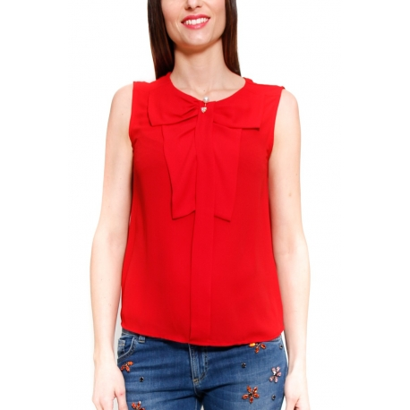 DIXIE TOP ROSSO ROSSO