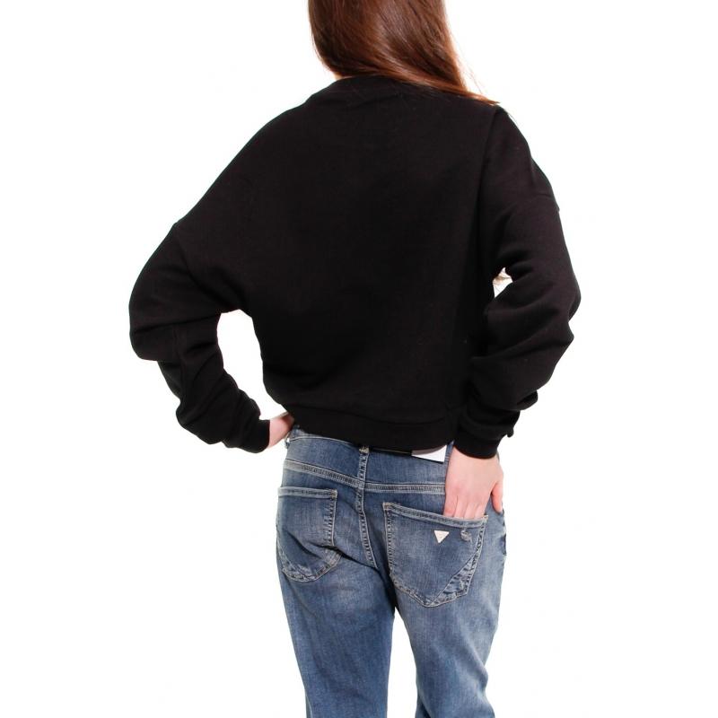 GUESS FELPA NERO - Formica Abbigliamento 7ba81f5a661
