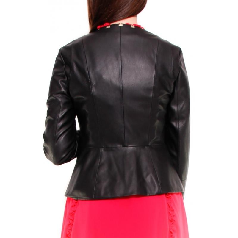 hot sale online 644be 4cce7 LIU JO GIACCA NERO - Formica Abbigliamento