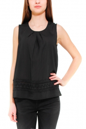 MOLLY BRACKEN TOP NERO NERO