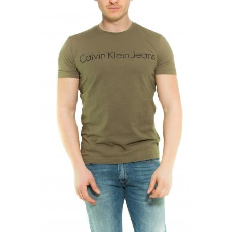 CALVIN KLEIN T-SHIRT VERDE VERDE