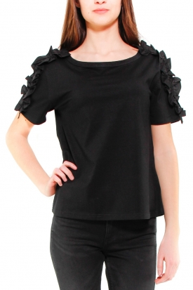 MOLLY BRACKEN T-SHIRT NERO NERO