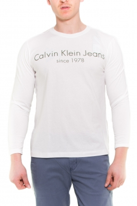 CALVIN KLEIN T-SHIRT BIANCO